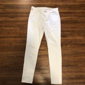 Citizens of Humanity Rocket white jeans